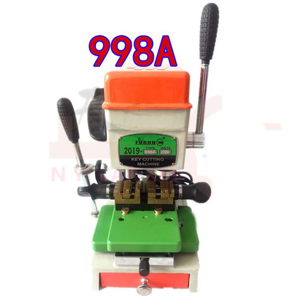 GQM 998A Máquina de corte de llave vertical vertical 220V Juego de selección de bloqueo para herramienta de cerrajería Máquina de llave duplicada