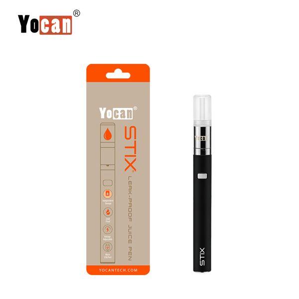 100% Original Yocan Stix Vape Pen Kit 320mAh Leak Proof E Juice Vaporizer Starter Kits With Ceramic Coil Genuine