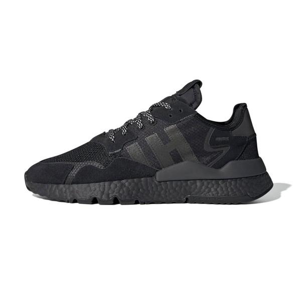 Jogger Chaussures De Course 3 M Réfléchissant Hommes Femmes Triple Core Noir Hommes Traner Créateur De Mode à L'extérieur Sports Sneake
