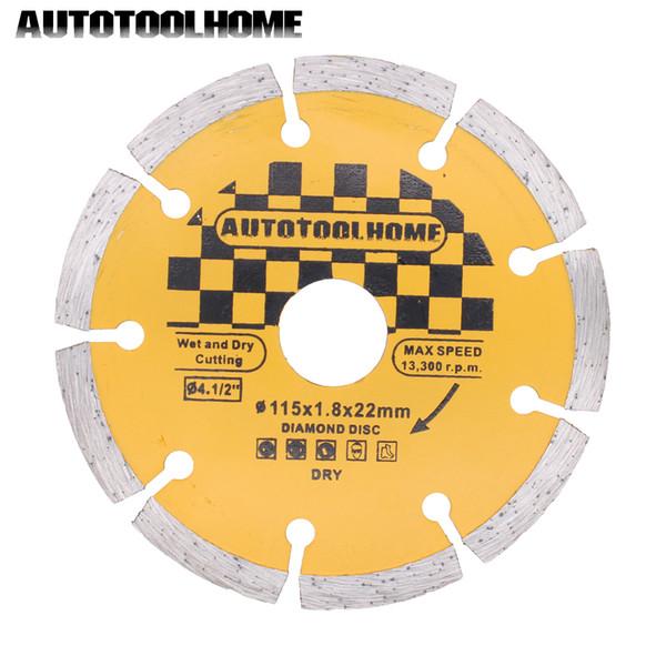 tira de baldosas AUTOTOOLHOME Ceramic Tile Cutting Disc 115mm 4.5 \