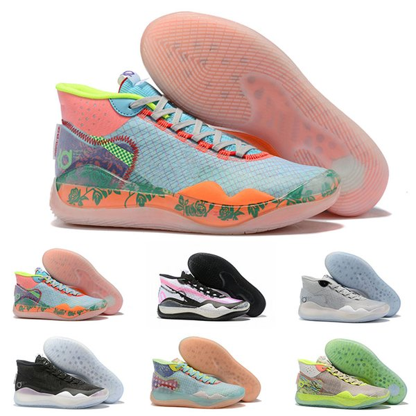 Top quality KD Kevin Durant 12 XII Cant Jump Dub Nation Colorway Elite For Mens Basketball Shoes Athletic Sport Sneakers