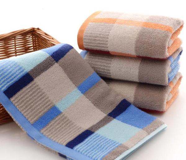 Coton serviette en grille serviette à séchage rapide voyage gymnase sport camping piscine extérieur serviettes de toilette adultes