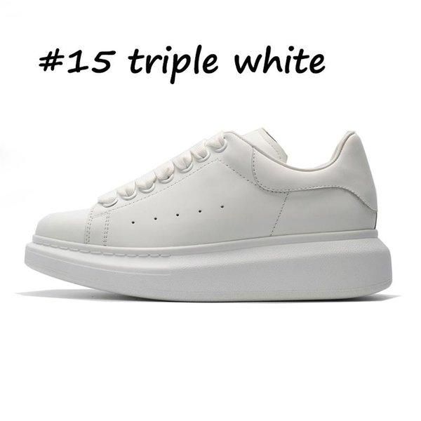 #15 тройной белый
