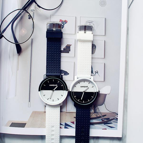 New Women Luxury Leather Geneva Neutral Watches man Watch Cheap Lady Girls Wristwatches Gift Hours Geneva clock