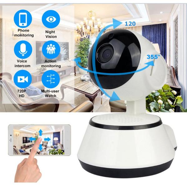 Baby Monitor Tragbare WiFi IP Kamera 720P HD Wireless Smart Baby Kamera Audio Video Record Überwachung Home Security
