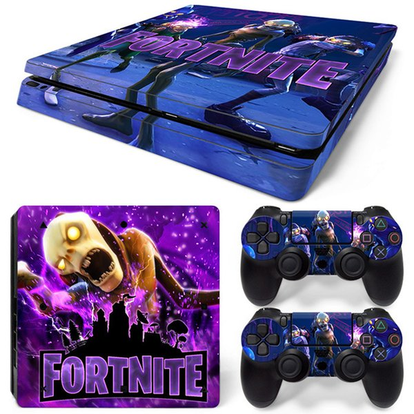 2019 Fortnite Game Sticker Vinyl For Ps4 Slim Controller Decal Skins Ps4 Slim Gamepad Cover For Ps4 Slim Pvc Protector 15 Styles From Unclelee 28