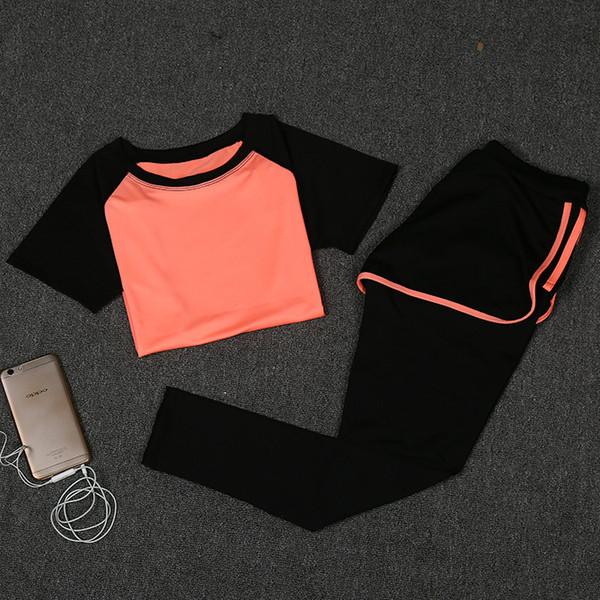 19ss neue ankunft frauen trainingsanzüge designer für sommer zweiteilige anzug atmungsaktiv bequem tuch frauen yoga kleidung anzug sportbekleidung