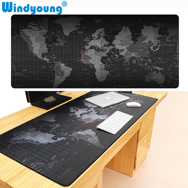 Universal Anti-slip Gaming Mouse Pad Extra Large Old Locking Edge Mice Pad Notebook Computer Gamer Mouse Mat