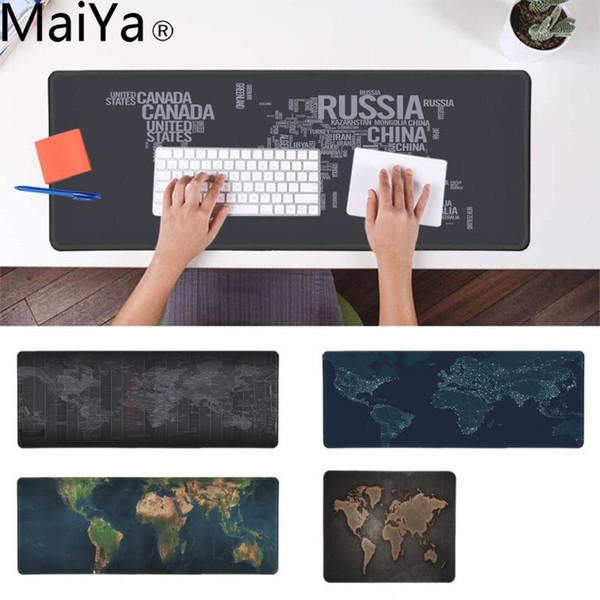 MaiYa New Printed Old Keyboard Gaming MousePads Rubber Mouse Durable Desktop Mousepad
