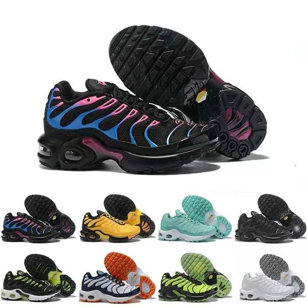 Großhandel Outdoor Schuhe Designer Kinder TN Jungen Mädchen Sportschuhe Turnschuhe Weiß Schwarz Sport Walking Trainer Schuhe Von Ksalice, $24.36 Auf