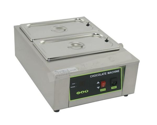 Four de fusion de beurre solide de machine de fonte de chocolat de Digital 2 réservoirs