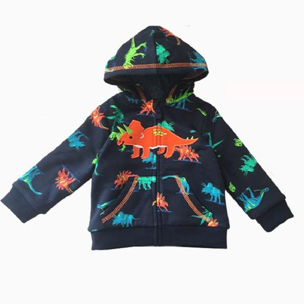 Fox Geometric Winter Kids Zip Up Hoodie Unisex