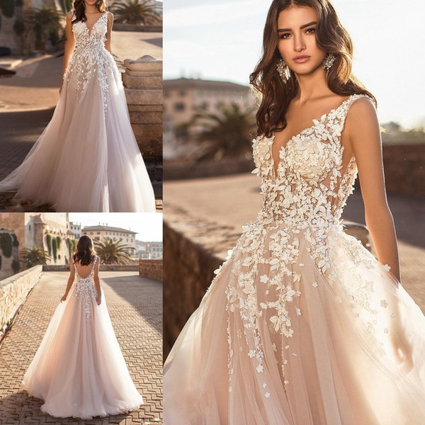 d779c1ea4dcf Hot Selling Pink Crystals Tulle Evening Dress Backless High Split Charming  Summer Prom Gowns Custom Made