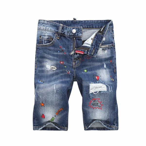 19ss mode hommes jeans droites biker jeans skinny pantalons décontractés cowboy célèbre marque zipper designer vente chaude mens designer jeans