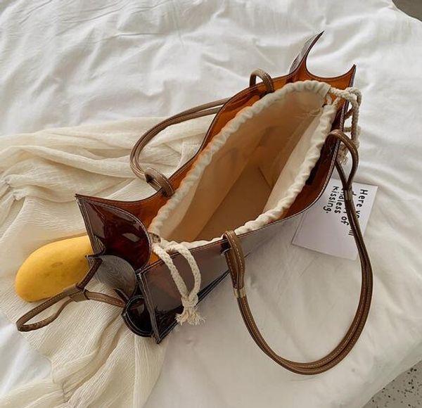di lusso borse Borsetta borse grandi sacchi Cancella Tote per le donne di lusso designer borse Y11 Mano trasparente