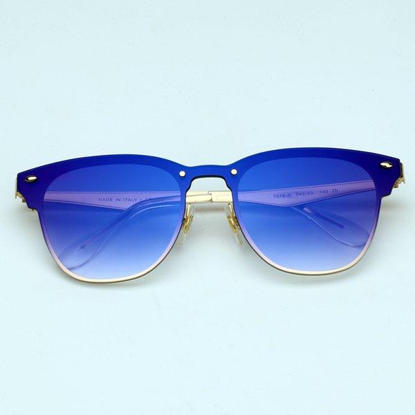 Miroir dégradé bleu / or 043 / X0