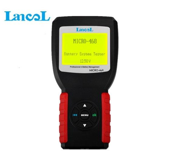Lancol MICRO-468 12V Battery Tester Analyzer Automotive/ Car Battery Tester/ Conductance For GEL Lead Acid AGM Battery