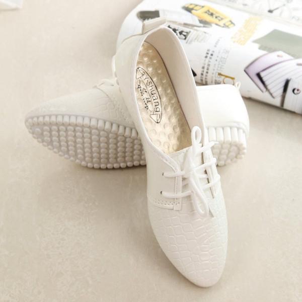 Fairy2019 bianco piccolo autunno donna Sharp Chalaza fondo piatto scarpe casual marea