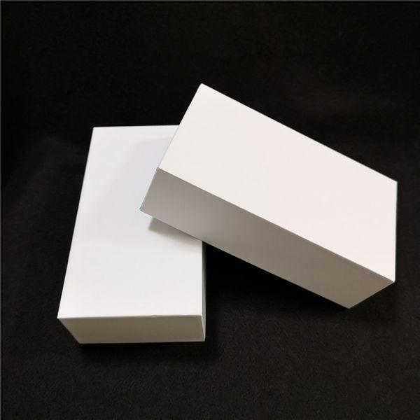 Scatola di imballaggio del telefono cellulare bianco puro 200pcs scatola vuota US / EU / UK con manuale di istruzioni con vassoio senza accessori senza logo per iPhone