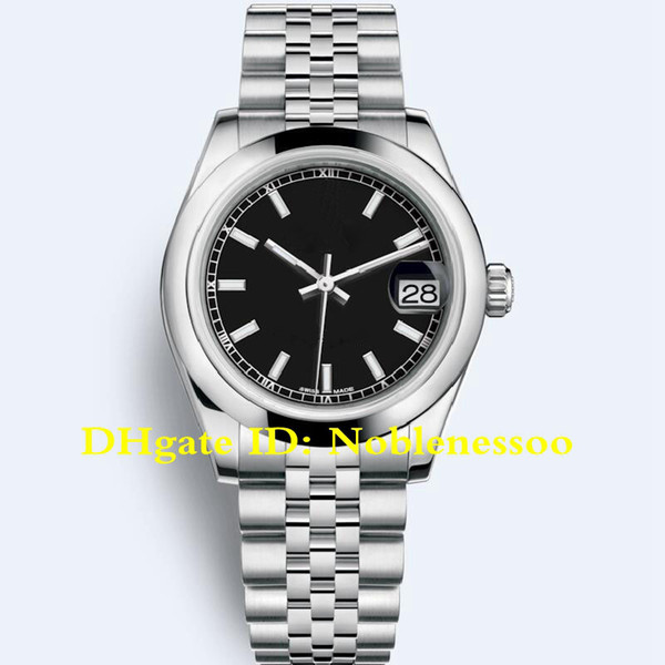 top popular 16 style Ladies 31mm Datejust 178240 Black 278278 279160 279173 178274 Asia 2813 Movement Automatic Watch Lady Women Watches 2020