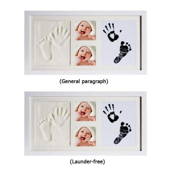 Cuidado del bebé Cojín de tinta de la huella del recién nacido Infant Clay Recuerdo infantil Kit de impresión del bebé Souvenir Hand Footprint Makers