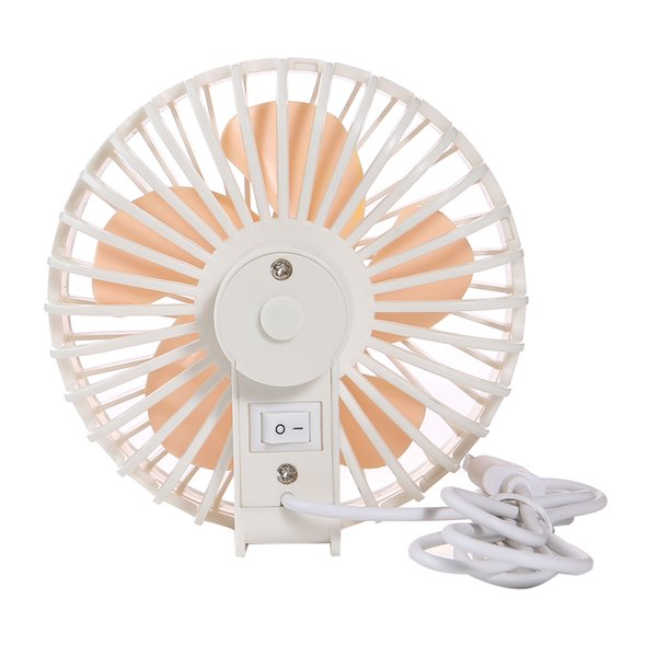 KKmoon Mini USB Fan Portable Low Noise Fan Cool USB Powered with Five 30° Blades Ued in Outdoor Activities