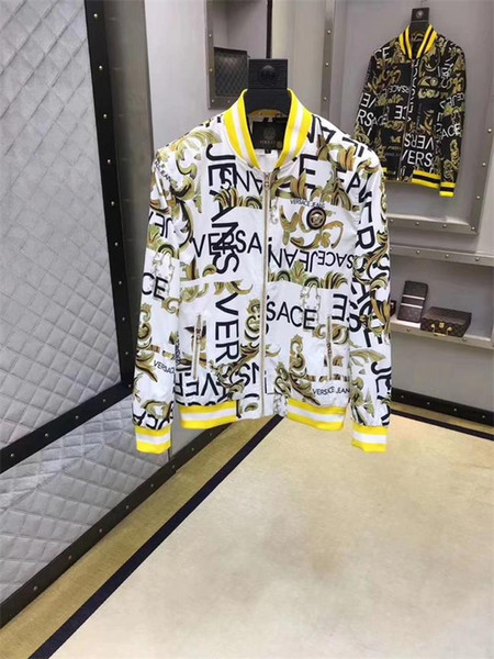 Mens Designer Jacke Heißer Verkauf Designer Mantel Lässig Luxus Jacken Polyester Langarm Sport Oberbekleidung AD Windjacke