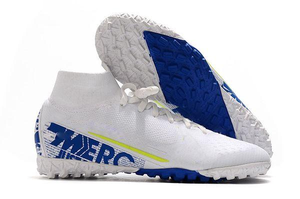 white blue IC