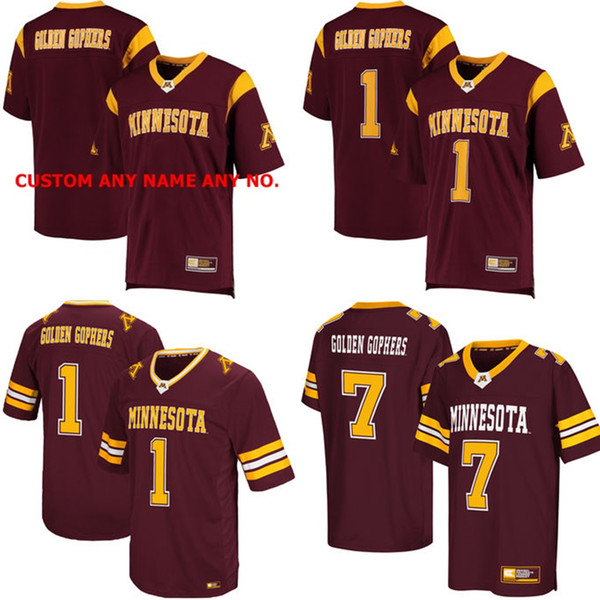 first rate 4e4ef 8f7ce 2019 New NCAA Minnesota Golden Gophers Mens Womens Kids Best Quality Jersey  100% Stitched Custom Any Name Any No. College Football Jerseys Maroon From  ...