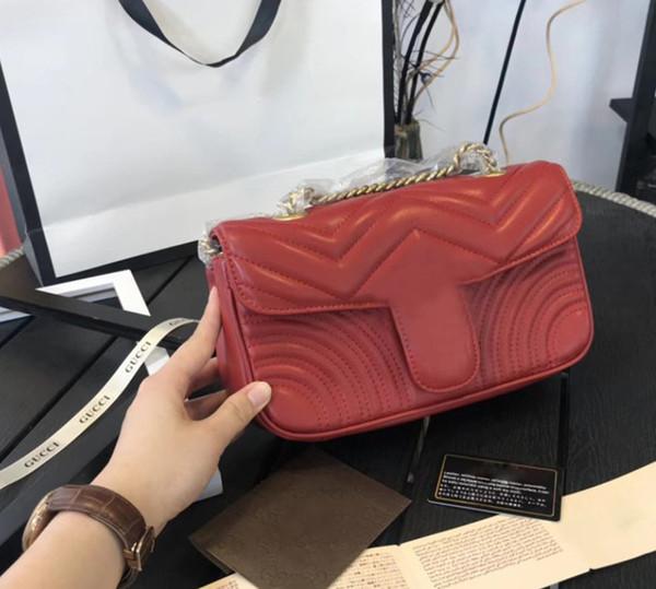 Горячие продажи Марка дизайнер Crossbody сумки для женщин высокого качества Дизайнерская сумка на плечо многоцветные роскошные женщины сообщение цепи сумки с письмом