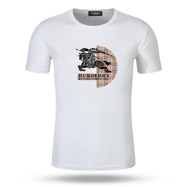 Italien 2019 männer Tees designer t shirt marke baumwolle dg kurzarm oansatz mann freizeitkleidung Luxus t shirts g camisetas