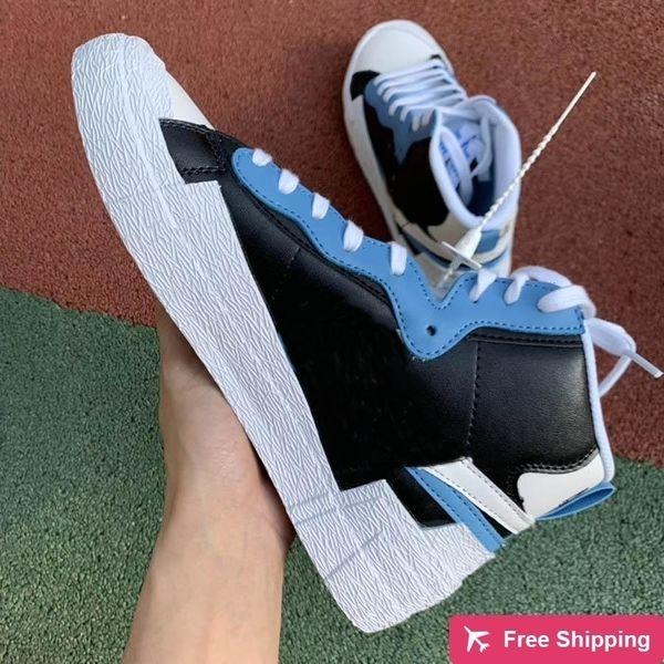 Designer de Luxo marca de moda sapatilha dos homens Mulheres Blazer Correndo Sports Shoes Para Mens Athletic Trainers Branco Vermelho Casual Sneakers Com Dunk