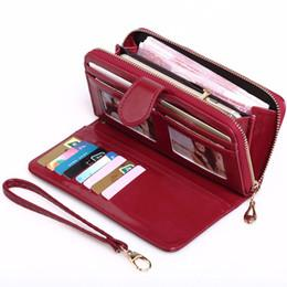 Luxury Classic red bottoms lady flower printing long wallet multicolor designer coin purse Card holder original box presbyopic zipper pocket