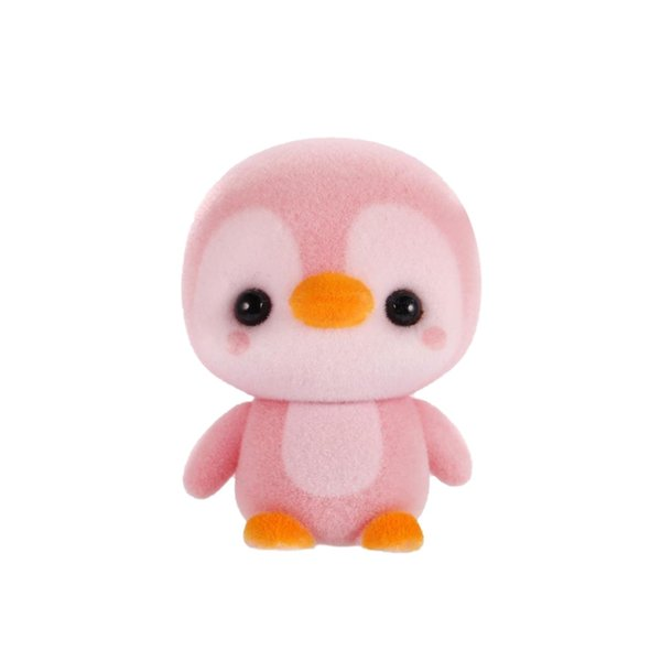 2019 Симпатичные Пингвин Flocking куклы автомобиля украшения мультфильм автомобиля Аксессуары Игрушки Аксессуары