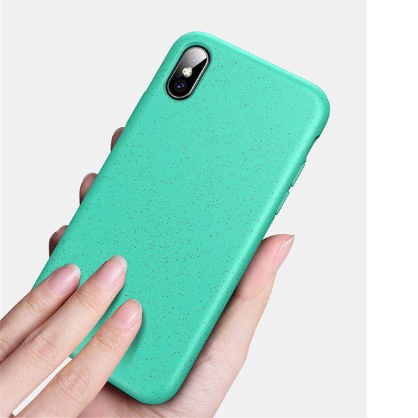 Custodia morbida di TPU Telefono riciclata biodegradabile Eco di iPhone 11 Pro Max per Samsung S10 Per Huawei P30 Mate 30