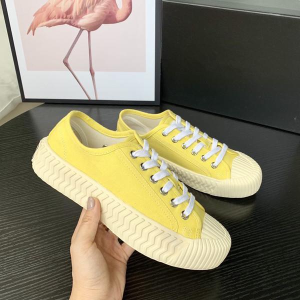 Mode et Qualité Designer Chaussures Casual Poudre Blanche Mode Femmes Baskets Casual chiffon Chaussures Coureur Formateurs ys190717