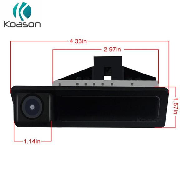 Koason Handpull Tronco aprire fotocamera macchina fotografica di retrovisione inversa per E60 E90 E70 E71 2005-2010 GPS