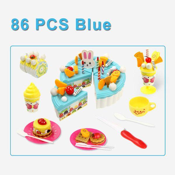 Color:86PCS BLUE