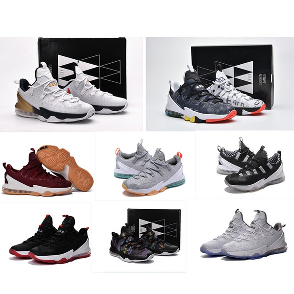 the best attitude 867c8 91334 2019 What The Lebron 13 Low Mens Basketball Shoes For Sale MVP Christmas  BHM Easter Halloween Akronite DB Boots With Size 7 12 From Xiaoxiuqin1,  $43.8 ...