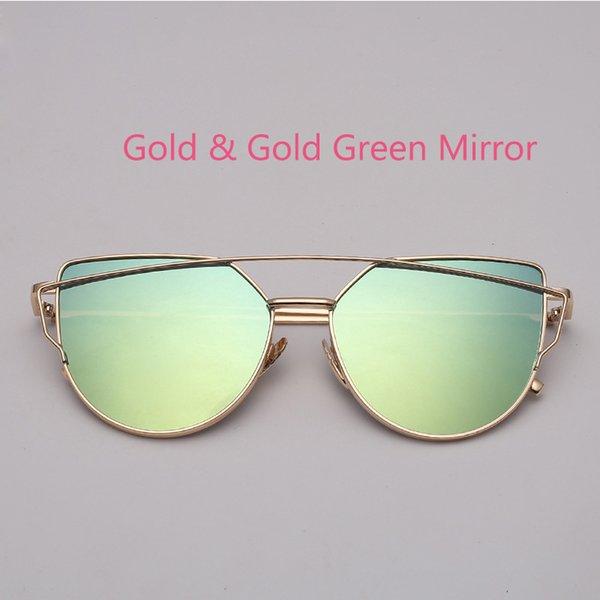 Золотой золотой зеленый