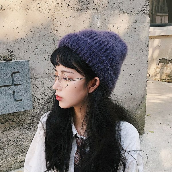 Christmas trend hat woman autumn and winter cute sweet and comfortable beanie is suitable for gift family
