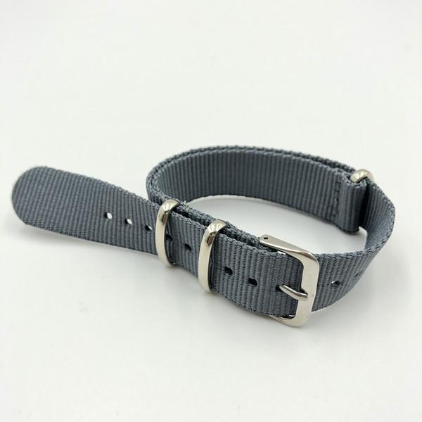 Qualité légère sangle en nylon 18mm Bracelet Bracelets montres pour Galaxy Montre 4 3 2 1 Respirant bande nylon pour engrenages s4 3 2 1