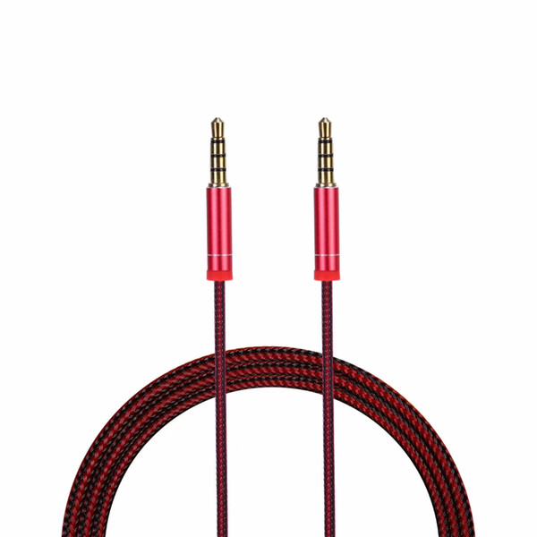 3.5mm Male to Male Car Auxiliary Aux Cord Right Angle Audio Cable For Phone PC U