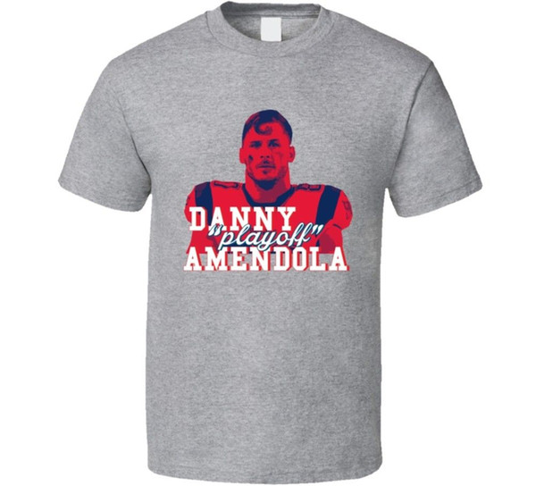Team Colors Danny Play Off Amendola New England Football Fan T Shirt Funny free shipping Unisex Casual