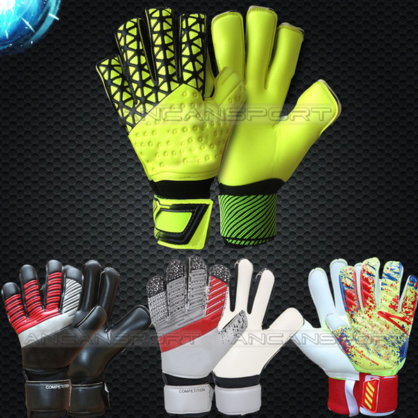 best selling Jusdon adults goalkeeper gloves soccer gloves football gloves 3MM latex without fingersaves