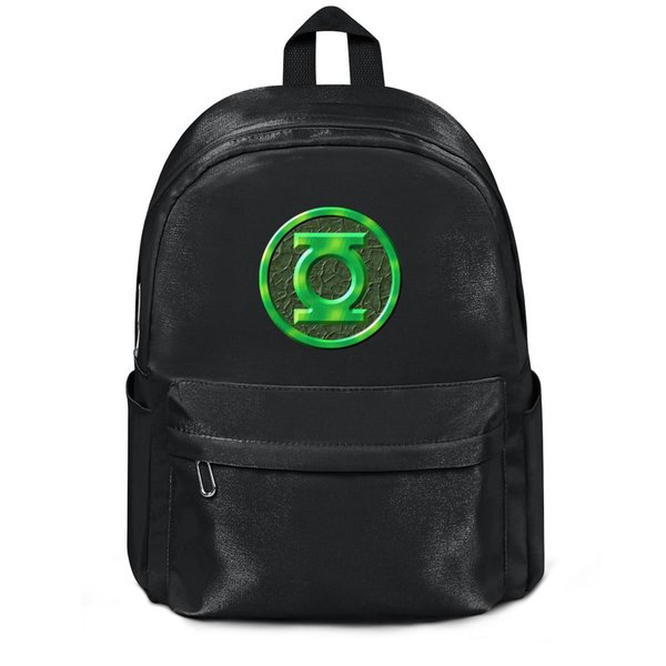Package,backpack Green lantern logo Green lantern logo 3D black cool Casualpackage convenient yoga gymbackpack