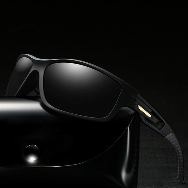 2019 Nuevo 4 gafas de sol de visión nocturna de color óptico Gafas de montar al aire libre Ejercicio de inyección Gafas de sol de conducción con bolsas y cajas