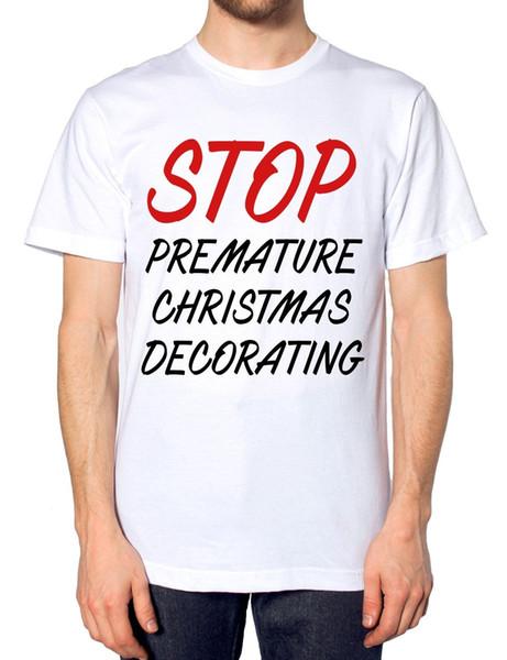 Erken Noel Dekorasyon durdurmak T Gömlek Komik Scrooge Bah Hum Bug Komik Şaka Boyutu Discout Sıcak Yeni Tshirt Cattt Rüzgarlık Pug Tshirt