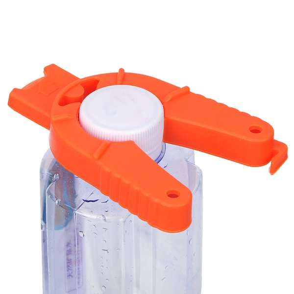Manual Canned Drink Can Opener Non-slip Kitchen Gadgets Portable Bottle Opener Multifunctional Plastic Creativ e ZJ0323