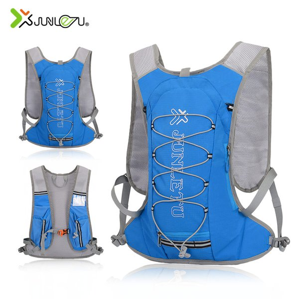 Trail Running Backpack Men Women Marathon Fitness Sports Accessories Outdoor Cycling Hiking 8L Nylon Vest Running No Water Bag